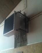 Aérotherme eau chaude - Mono 230 V - IP 54 - Échangeur de chaleur en cuivre