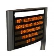 Affichage lumineux pour mairie