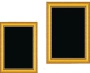Affichage menu d'intérieur - Dimensions (cm) : 46 x 34 - 59.5 x 39.5