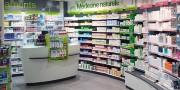 Agencement de pharmacie et de parapharmacie - Décoration et ameublement de pharmacie et parapharmacie
