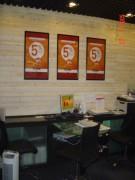 Agencement espace bancaire en galerie - Conception et aménagement espace bancaire en galerie
