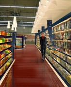 Agencement espace parfumerie en hypermarché - Conception et aménagement espace parfumerie en hypermarché