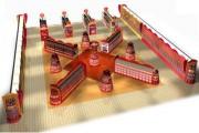 Agencement pharmacie espace bonbons - Concept pour l'univers bonbons en hypermarchés