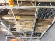 Agencement pour magasin bois - Hauteur : de 1200 à 5000 mm - Profondeur : de 600 à 1150 mm