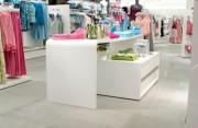 Agencement textile - Rénovation vitrine pour magasin de textile
