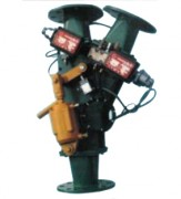 Aiguillages de transfert pneumatique - Commandé par un vérin pneumatique