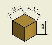 Aimant cube en néodyme