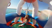 Aire de jeux aquatique 60 personnes - Dimensions : L 30 m x l 20 m