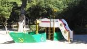 Aire de jeux bois - Fabriqué en bois labellisé PEFC