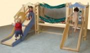 Aire de jeux enfant avec toboggan - Réf. MA3