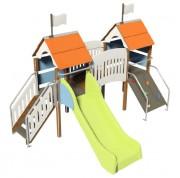 Aire de jeux pour enfant - Dimensions: L 350 x l 245 x H 200 cm