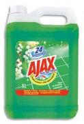 AJAX Bidon de 5 litres nettoyant parfum fleurs de printemps/ brassé de fleurs - Ajax