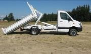 Aménagement camion utilitaire - À bras et benne amovible