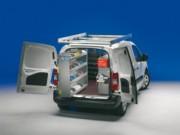 Aménagement Citroën Berlingo - Equipement métallique modulaire