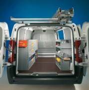 Aménagement Citroën Jumpy utilitaire - Equipement métallique Jumpy