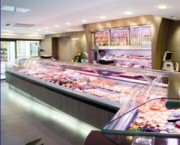 Aménagement de vitrines pour boucheries - Boucheries