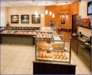 Aménagement de vitrines pour Boulangeries