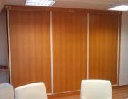 Aménagement en bois pour bureaux  - Travaux de menuiserie en bois et pvc
