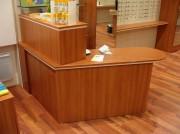 Aménagement en bois pour magasin optique - Etude pré-travail gratuite