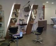 Aménagement en bois pour salon de coiffure  - Etude pré-travail gratuite
