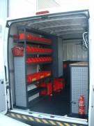 Aménagement et étagères pour fourgon Citroën Jumper - Aménagements modulables et personnalisables