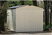Aménagement garage métallique peint