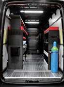 Aménagement intérieur polyester - Couverture en Polyester - Etanchéité optimale