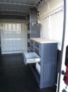Aménagement interne pour Fiat Doblo - En aluminium ou acier - Pour Fiat Doblo