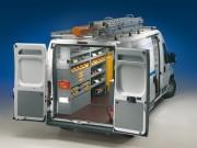 Aménagement métallique de véhicules utilitaires - Equipement de fourgon
