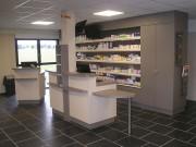 Aménagement sur mesure pour espace de santé - Agencement de pharmacie