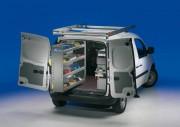 Aménagement utilitaire Renault Kangoo - Equipement métallique sur Kangoo