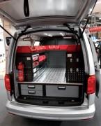 Aménagement véhicule en résine et aluminium - En résine et aluminium, kit cover, ...