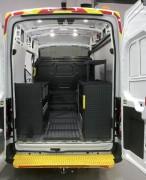 Aménagement véhicule utilitaire sur mesure - Capacité de charge de 120 kg/étagère