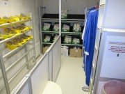 Aménagement vestiaire atelier - Industrie nucléaire - pharmaceutique et agroalimentaire