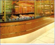 Aménagement vitrine Boulangerie