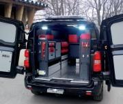 Aménagement voiture utilitaire en bois - Adaptable - Personnalisable