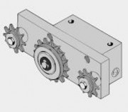 Amortisseur radial RD 240 001 pour amortissement continu avec chaîne tendue - Référence 220 005