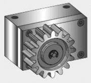 Amortisseur radial RD avec roue dentée - Référence 241 013 (Ø64, 16 dents)