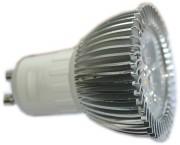 Ampoule GU10 12 volts 3 watts - Puissance : 3 watts