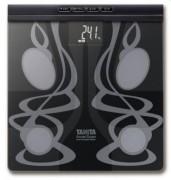 Analyseur de composition corporelle en verre - Portée : 150 kg - Design moderne en verre