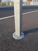 Ancrage plaque de rue - Système d'ancrage rapide plaque de rue