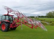 Andaineur agricole - De 9 à 13 roues d'andainage