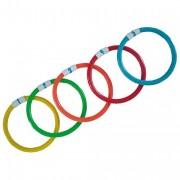 Anneaux aquatique lestés - Set de 5 anneaux numérotés