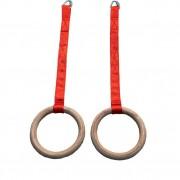 Anneaux gymnastique - Avec sangles et maillons - Câbles, sangles et tourillons