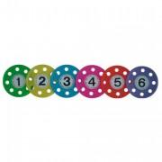 Anneaux lestés pour aquagym - Set de 6 anneaux