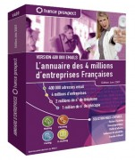Annuaire de 4 millions d'entreprises françaises