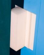 Anti claque porte bureaux à repositionnement automatique - LxH : Sur mesure - Épaisseur : 2,70 cm - Installation en 20 secondes