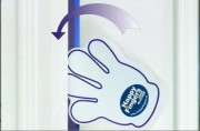 Anti pince doigts a ruban - Anti claque porte