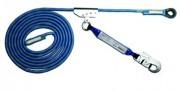 Antichute mobile sur corde - Dimension (L) : 5 - 10 - 15 - 20 m