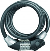 Antivol Spirale pour vélo diamètre 12 mm - 12 mm de diamètre